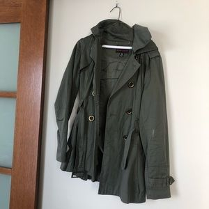 Miss Sixty olive green military style jacket